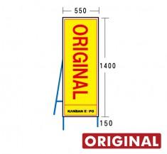 オリジナル工事看板550×1550mm  ORIGINAL-550×1550