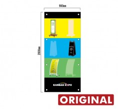 縦型幕サイズ2 900×2000 オリジナル懸垂幕 KSM-003