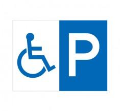 APSC-019 身障者専用駐車場_3 (アルミパネル看板)