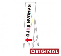 A型片面 オリジナル木枠トタン看板 【TSO-004】