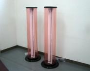 円筒形 和風電飾看板 屋内用 サークルライトサイン 灯具あり EN-291 ヤマフジ北本店様