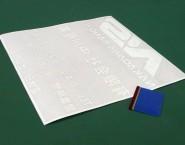 白カッティングシート 切文字シール OCF-001 有限会社中川産業様