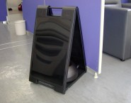 スタンドプレート SP-601 ブラック 人気商品 両面看板